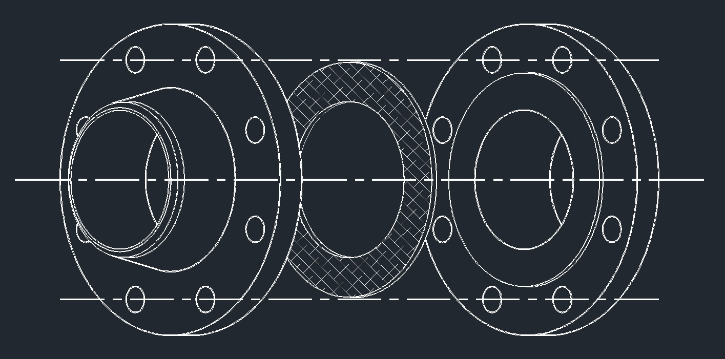 Ring Gasket Drawing