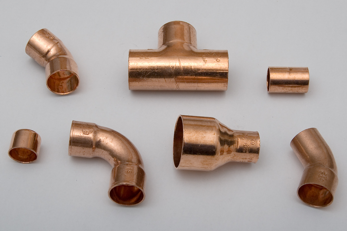 Belled end pipe fittings