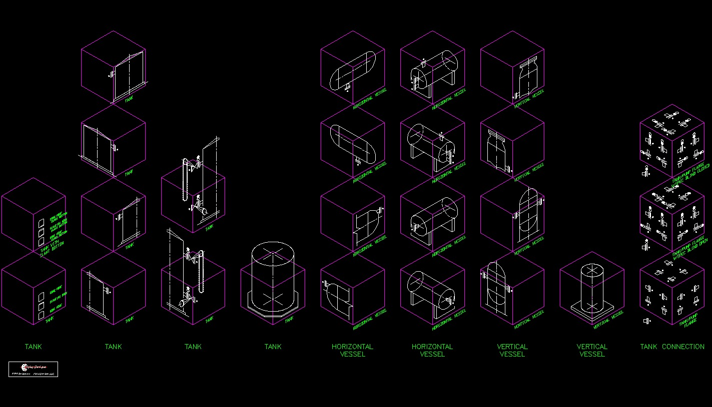 Isometric Equipment Drawing Package