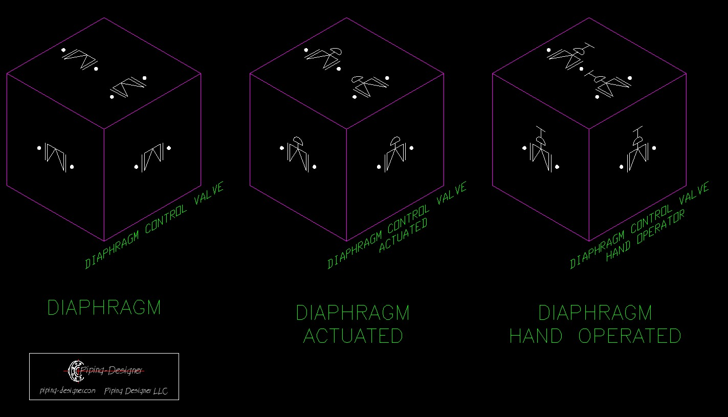 Isometric Valve Symbols Topsimages